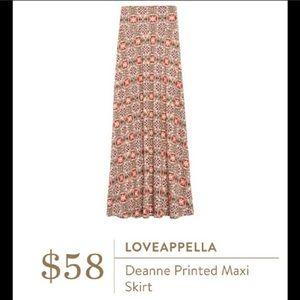 StitchFix Loveapella Maxi Skirt!